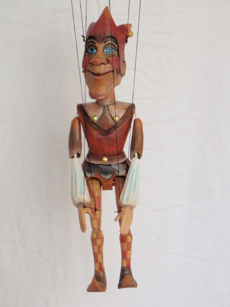 Jester marionette puppet KW 001