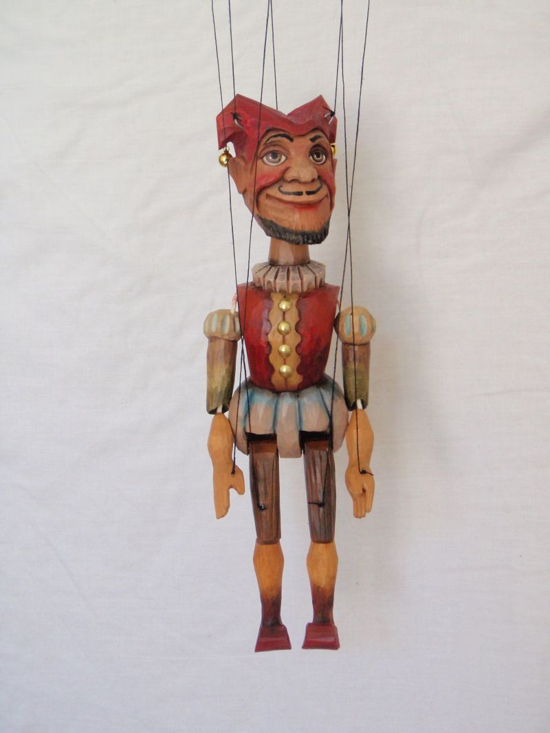 Jester marionette puppet KW 003