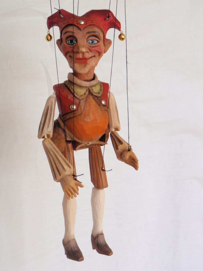 Jester Marionette Puppet KW 004
