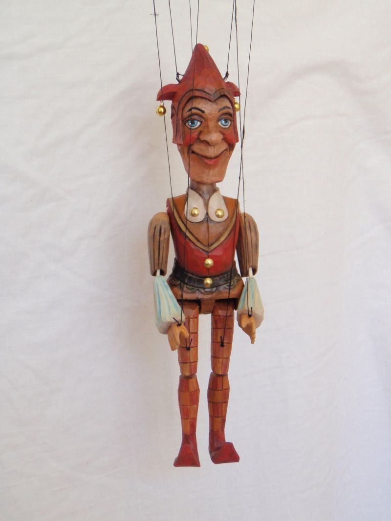 Jester Marionette Puppet KW 005