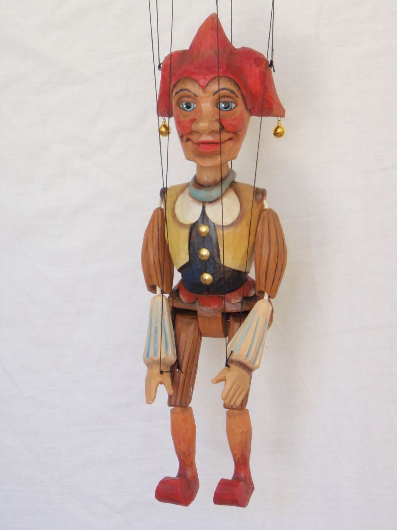Jester marionette Puppet KW 006