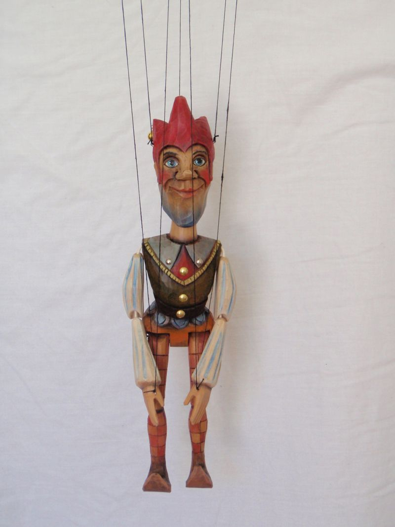 Jester Marionette Puppet KW 007