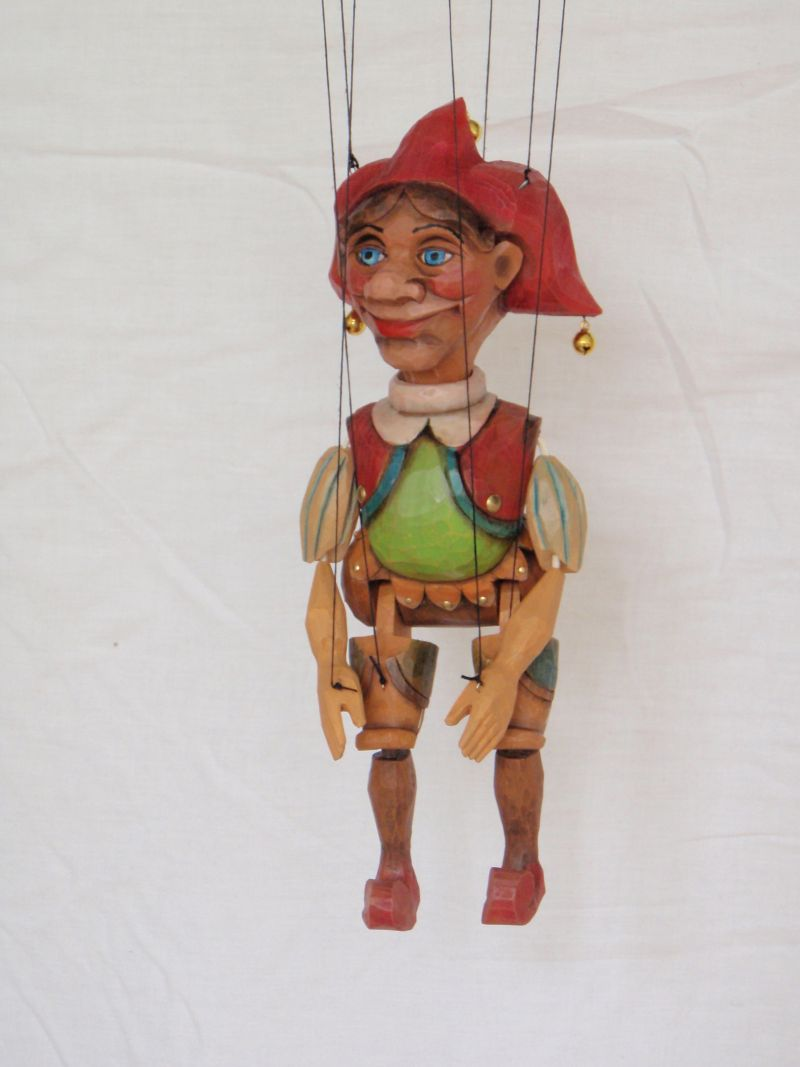 Jester Marionette Puppet KW 008