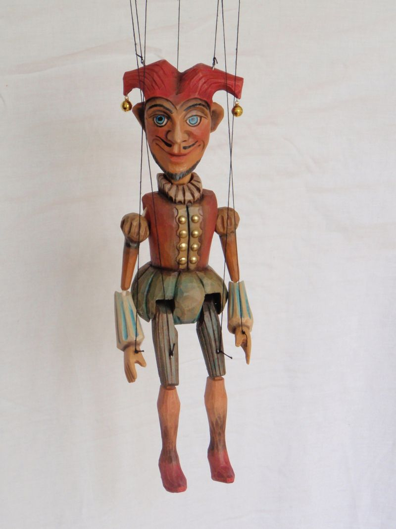 Jester marionette Puppet KW 009