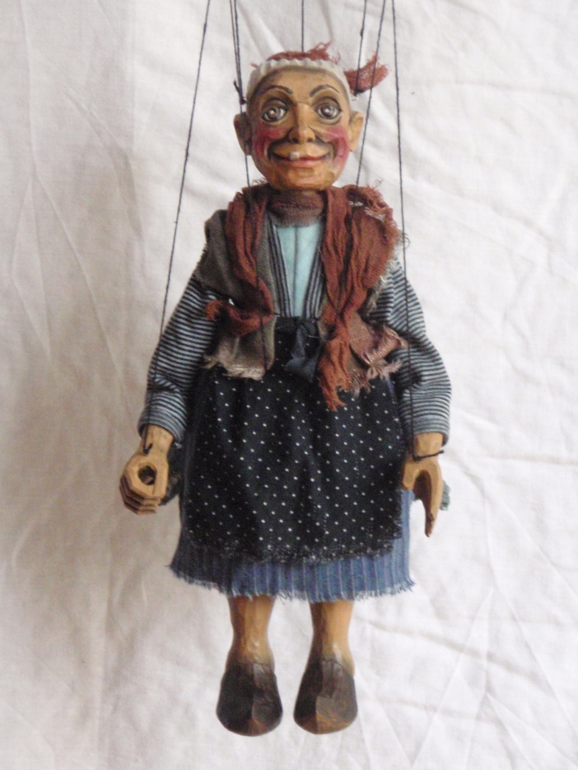 Little Witch- puppet marionette