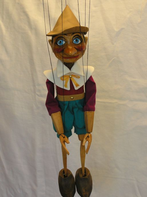 Pinocchio Marionette 007 - Click Image to Close